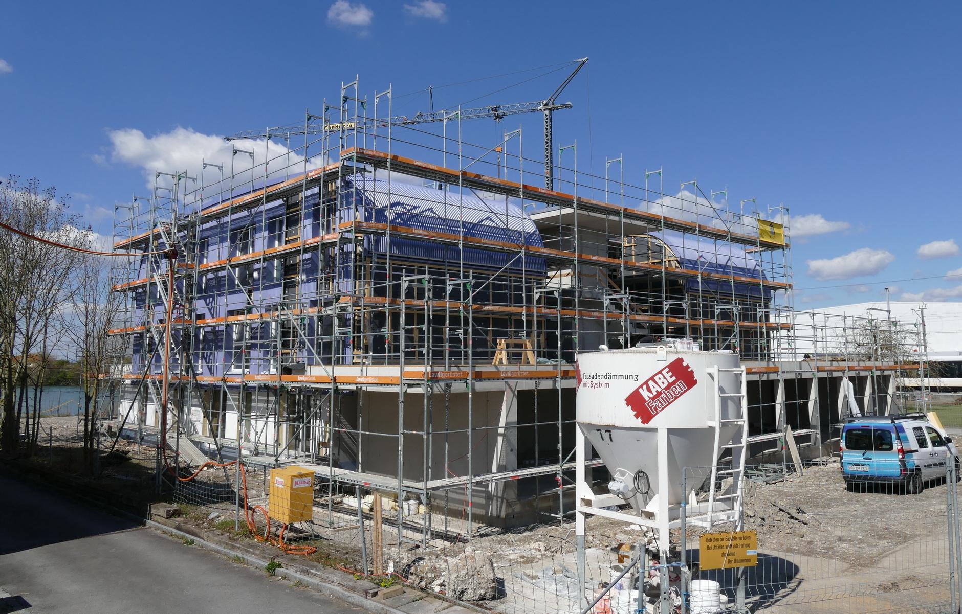 Neubau MFH Rheinstr. 17