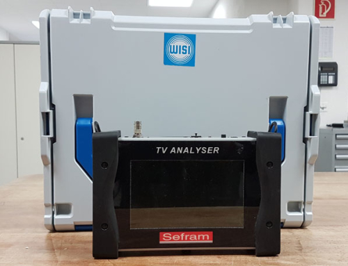 Das neue TV-SAT Messgerät